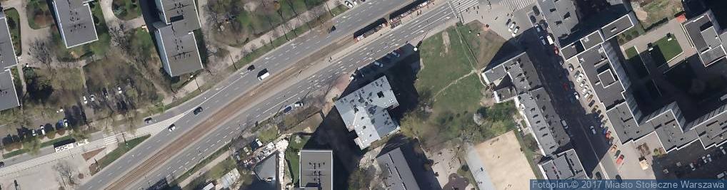 Zdjęcie satelitarne Komornik Sądowy przy Sądzie Rejonowym Dla Warszawy Woli w Warszawie Małgorzata Zacharek Bukszewicz
