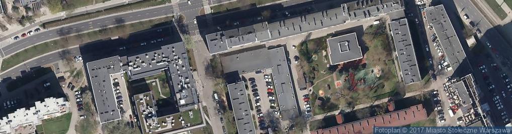 Zdjęcie satelitarne Komornik Sądowy Rewiru VI Dla Warszawy Woli