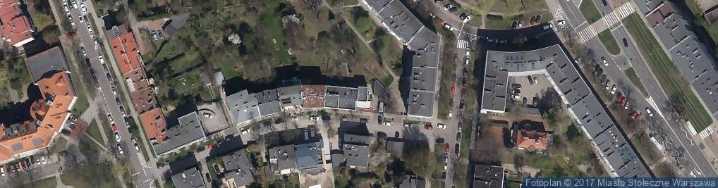 Zdjęcie satelitarne Kot Bury