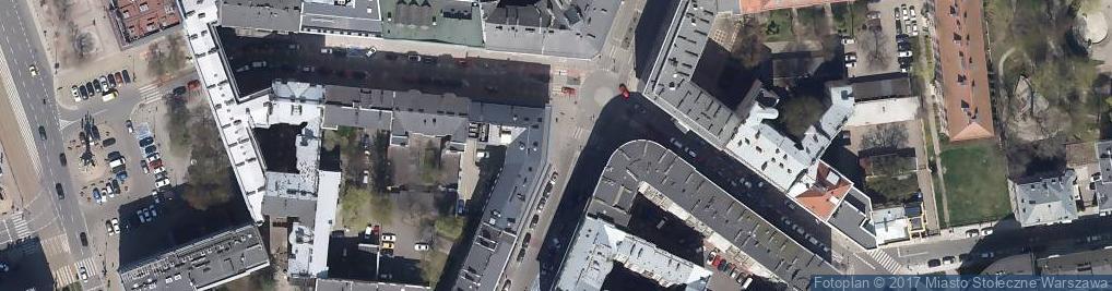 Zdjęcie satelitarne Krajowa Agencja Poszanowania Energii S.A