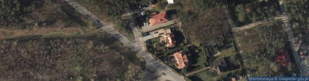 Zdjęcie satelitarne Krys Krzysztof Dębiński