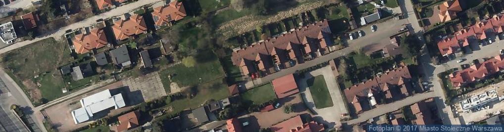 Zdjęcie satelitarne Krystian Grzenkowicz KG Projekt