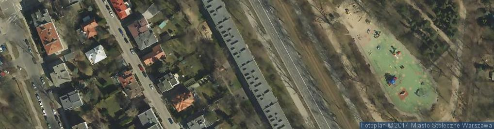 Zdjęcie satelitarne Krzysztof Witomski Wspólnik Spółki Cywilnej Lokal