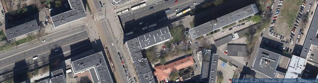 Zdjęcie satelitarne Laboratorium Ortodontyczne Corga