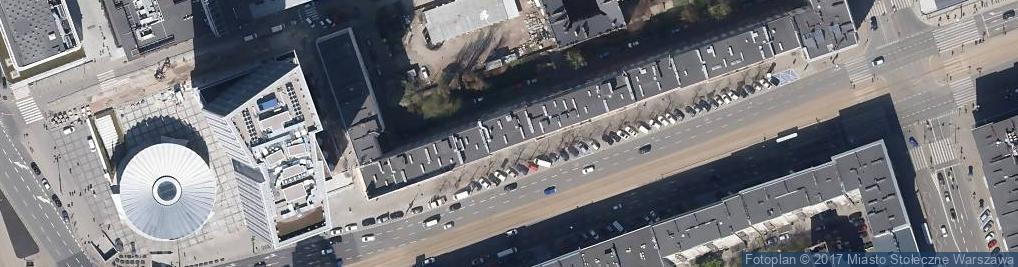 Zdjęcie satelitarne Magnes Nieruchomości