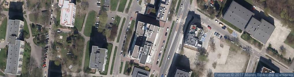Zdjęcie satelitarne Manicure Express