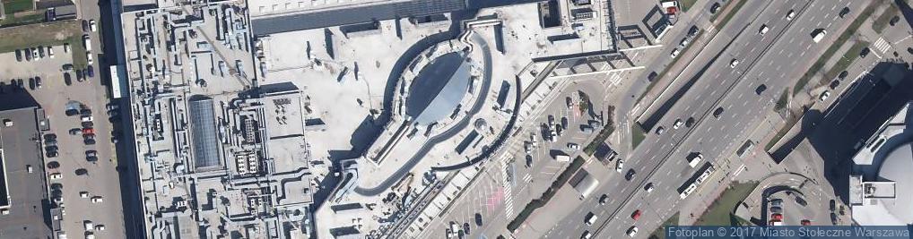 Zdjęcie satelitarne Matchworkers Oddział w Polsce