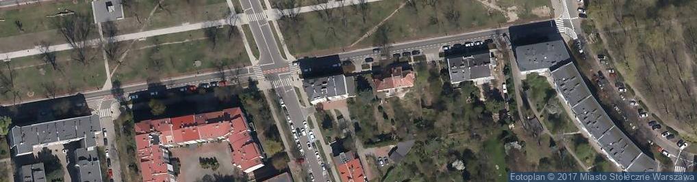 Zdjęcie satelitarne Mazowiecki Wojewódzki Ośrodek Medycyny Pracy w Płocku Oddział w Warszawie