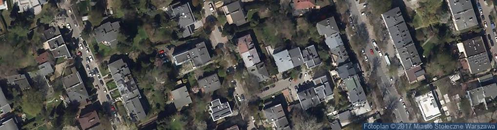 Zdjęcie satelitarne Mazurska Osada Turystyczna
