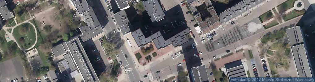 Zdjęcie satelitarne Mecom Przeds Handlowo Usługowe Combrzyński Janusz Pluta Maciej