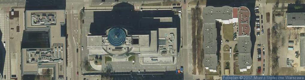Zdjęcie satelitarne Metropolis BTL