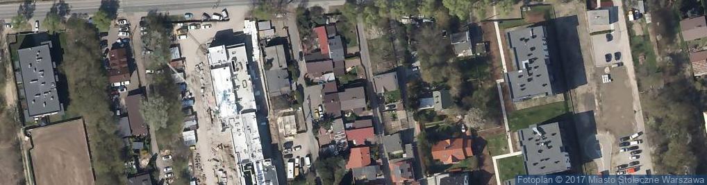 Zdjęcie satelitarne Mirosław Szymański Przedsiębiorstwo Handlowo-Usługowe Akces