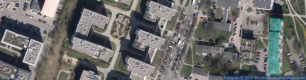 Zdjęcie satelitarne MK Visage