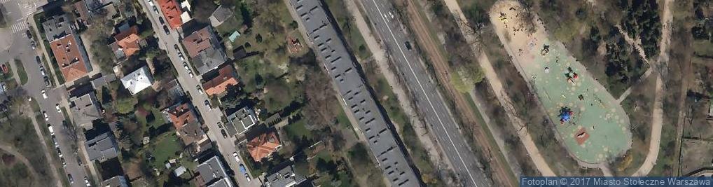 Zdjęcie satelitarne Monika Witomska Wspólnik Spółki Cywilnej Lokal