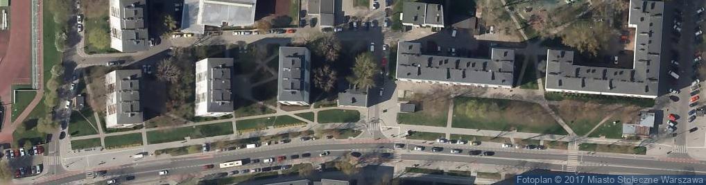 Zdjęcie satelitarne N.F.P.Andrzej Klogie