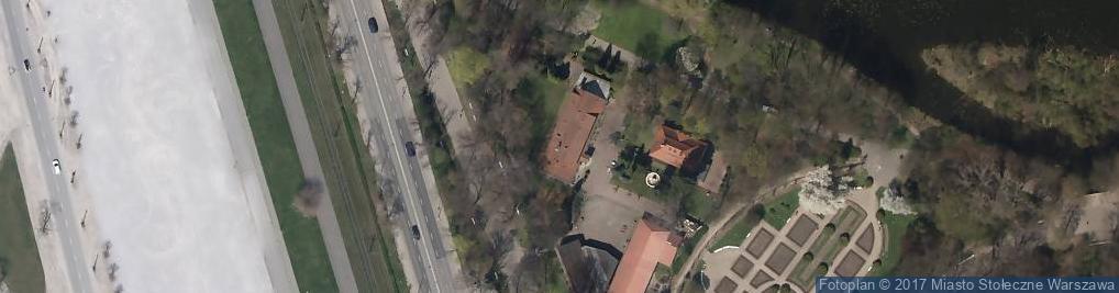 Zdjęcie satelitarne Nadwiślańskie Składy Budowlane