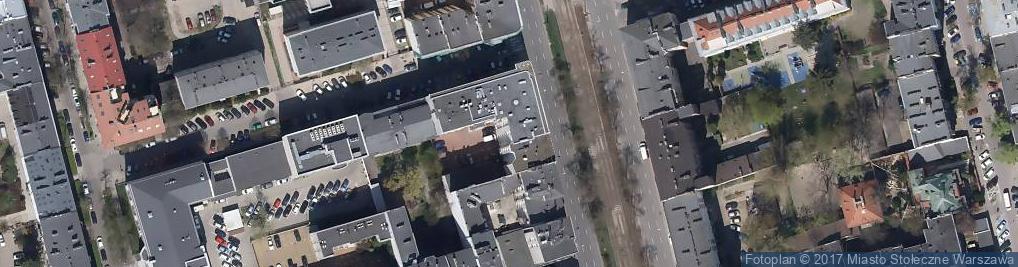 Zdjęcie satelitarne Niepubliczne Przedszkole Odkrywcy Agnieszka Stateczna