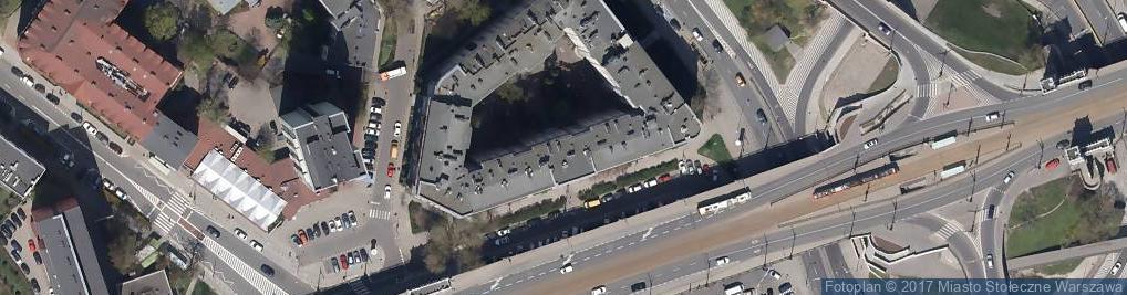 Zdjęcie satelitarne Nieten Serwis Celny