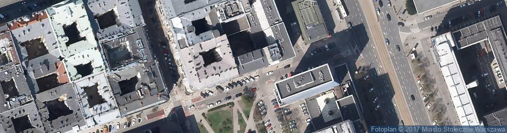 Zdjęcie satelitarne Nowogrodzka Nieruchomości
