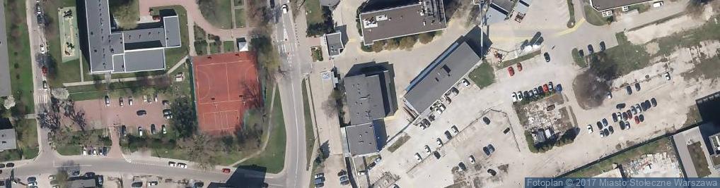 Zdjęcie satelitarne OSP przy Warszawskich Zakładach Farmaceutycznych Polfa