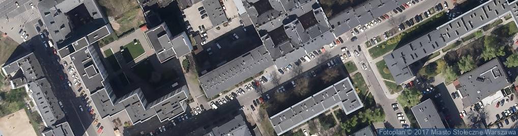 Zdjęcie satelitarne Ośrodek Szkolenia Kierowców Manewr