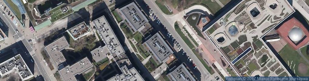 Zdjęcie satelitarne P F Pośrednictwo Finansowe