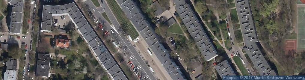 Zdjęcie satelitarne P P H U Automan Dobiszewski Marian Wojno Piotr