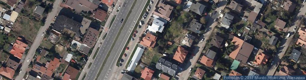 Zdjęcie satelitarne Pai Hua Szkoła Dalekowschodnich Sztuk Walki Aleksander Abramczuk