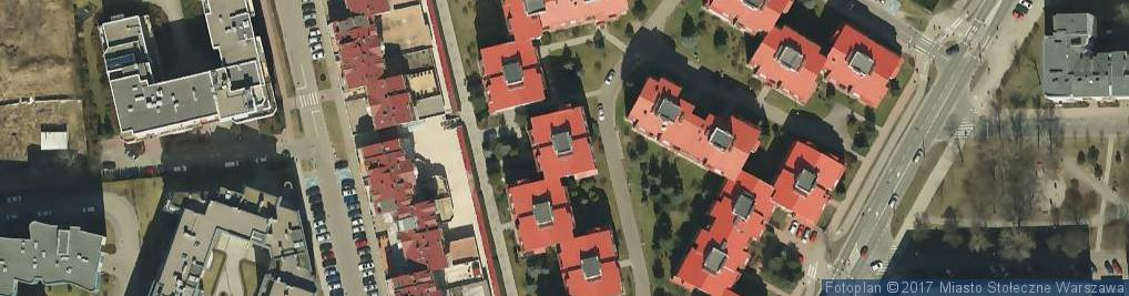 Zdjęcie satelitarne Paweł Bergier - Działalność Gospodarcza