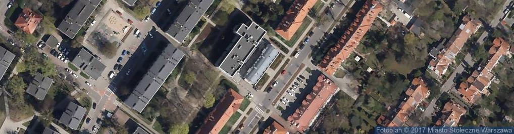 Zdjęcie satelitarne Paweł Bieńkowski Doradztwo Gospodarcze