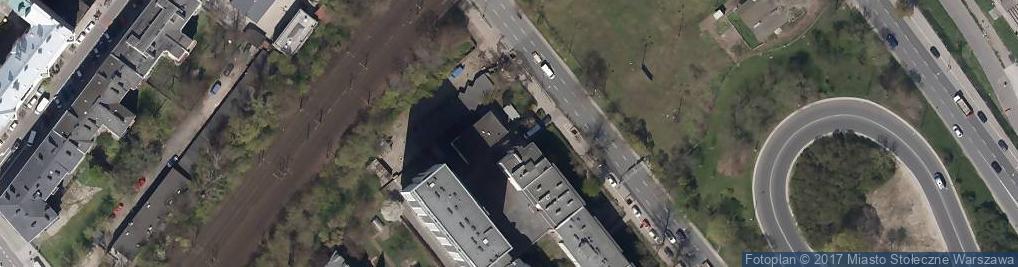 Zdjęcie satelitarne PAX Instytut Wydawniczy