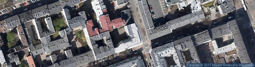 Zdjęcie satelitarne Pensjonat Odyseja Agata Przybylska