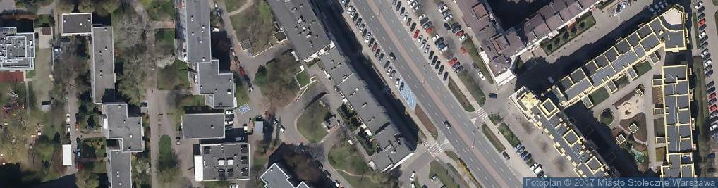 Zdjęcie satelitarne PHU Bogusia