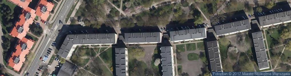 Zdjęcie satelitarne Piast Tech Flis Anna Więcaszek Mieczysław Andrzej