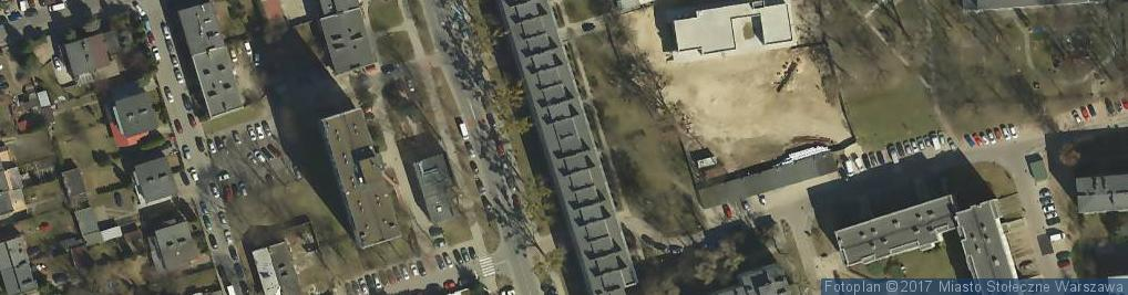 Zdjęcie satelitarne Piotr Rosikoń Szyldy