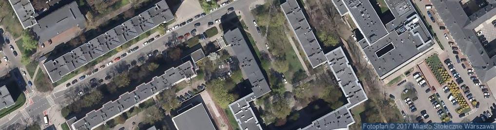 Zdjęcie satelitarne Piotr Seńczuk Przedsiębiorstwo Produkcyjno Handlowo Usługowe Baj