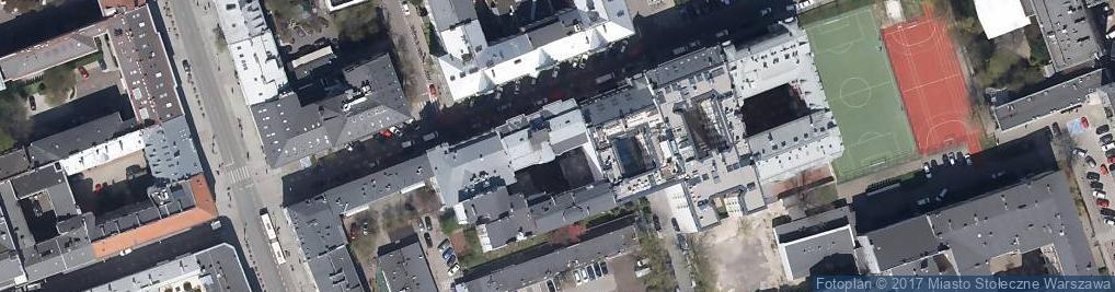 Zdjęcie satelitarne PIW Państwowy Instytut Wydawniczy