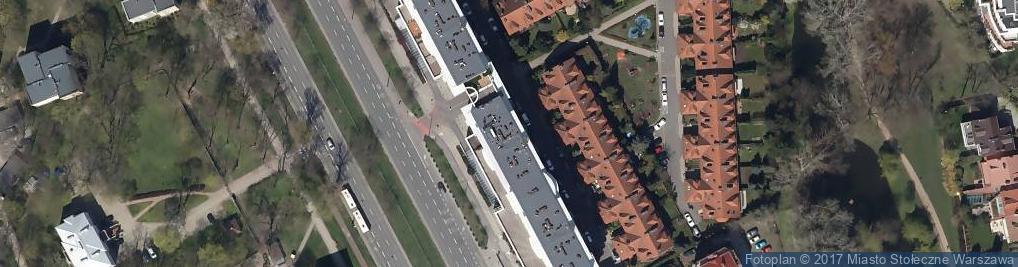 Zdjęcie satelitarne pod Lasem
