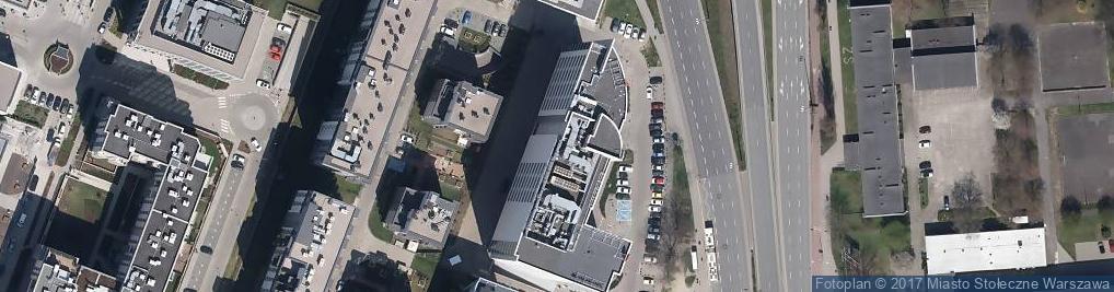 Zdjęcie satelitarne Podkarpacka Akademia Tenisowa