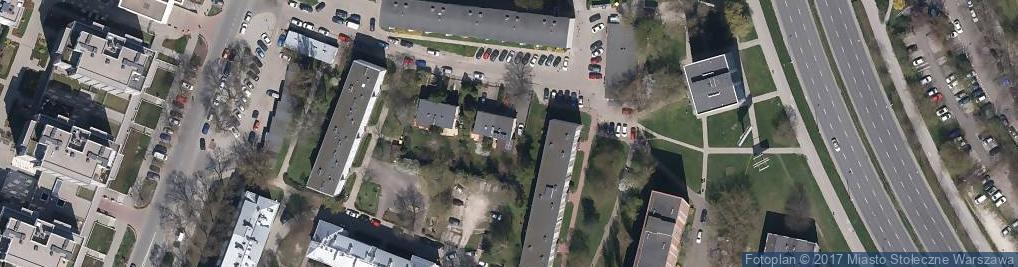 Zdjęcie satelitarne Podlaskie Specjalistyczne Centrum Medyczne