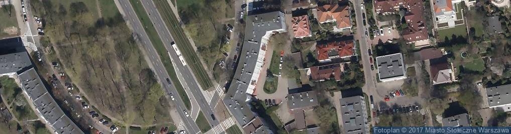 Zdjęcie satelitarne Podwale 25