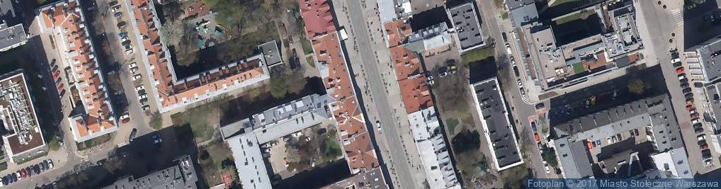 Zdjęcie satelitarne Pol Press Sp. z o.o.
