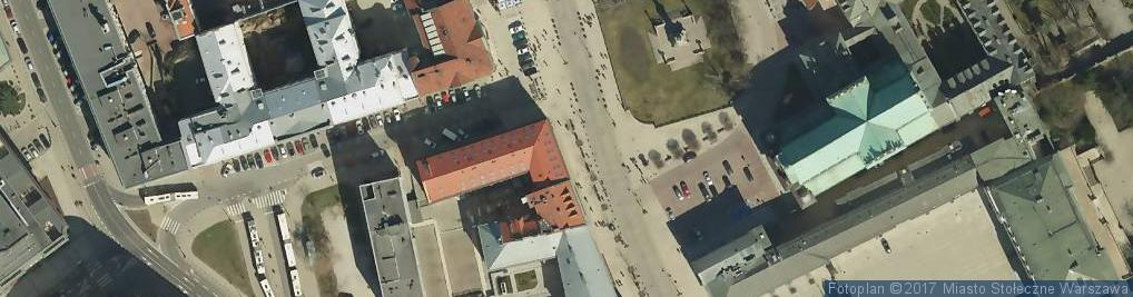 Zdjęcie satelitarne Polski Instytut Sztuki Filmowej