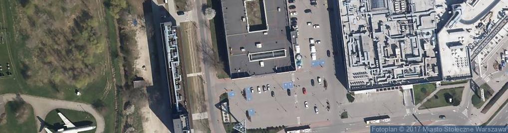 Zdjęcie satelitarne Polski Ogród