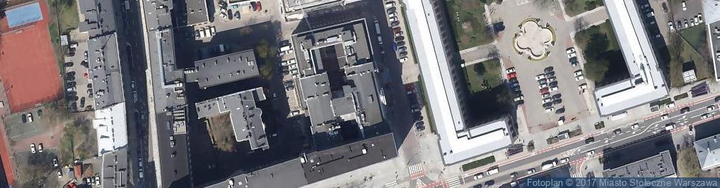 Zdjęcie satelitarne Polski Związek Inżynierów i Techników Budownictwa Oddział Warszawski