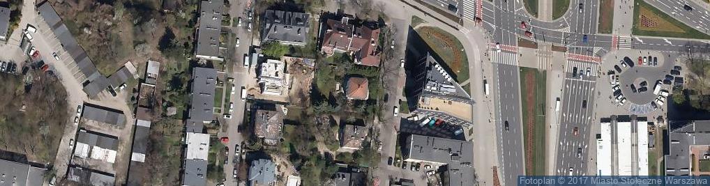 Zdjęcie satelitarne Polskie Towarzystwo Hipiatryczne