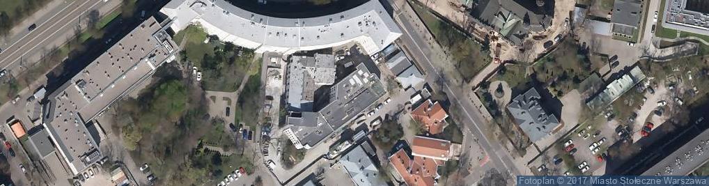 Zdjęcie satelitarne Polskie Towarzystwo Okulistyczne
