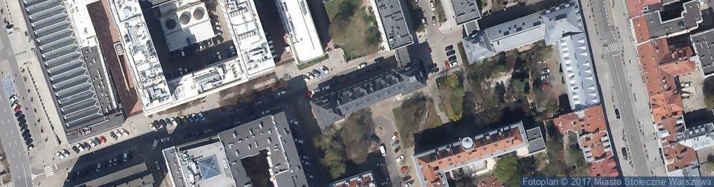 Zdjęcie satelitarne Polsko Brytyjskie Stowarzyszenie Prawnicze