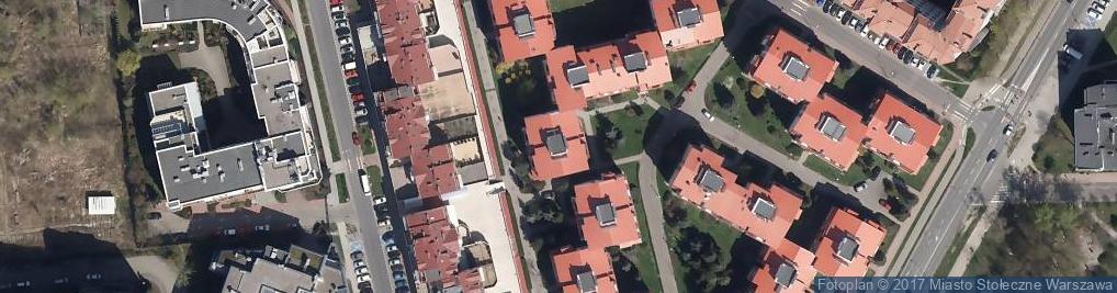 Zdjęcie satelitarne Pośrednictwo Ubezpieczeniowe