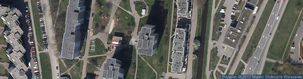 Zdjęcie satelitarne Pozłotnictwi Mazurkiewicz Zdzisław